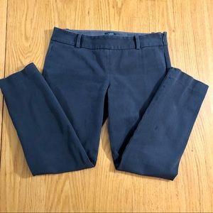 J. Crew Charcoal Gray City Fit Skinny Pants